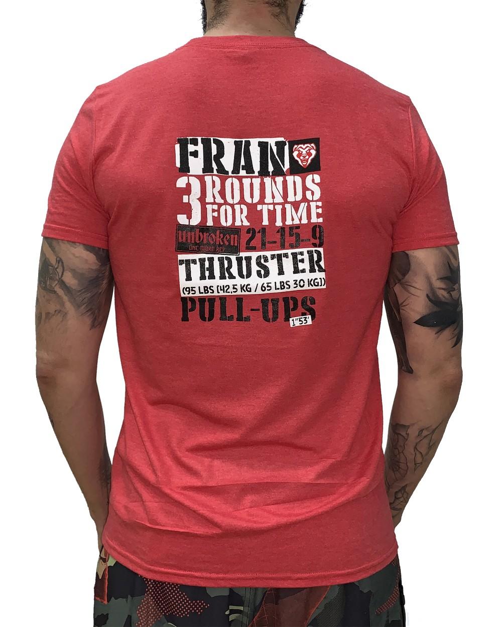 Camiseta hombre Crossfit - Fran - Back
