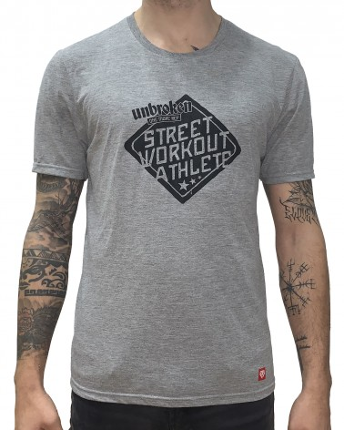 Camiseta Street Workout - Grey
