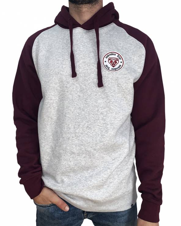 Sudadera Authentic con capucha Baseball Light Oxford