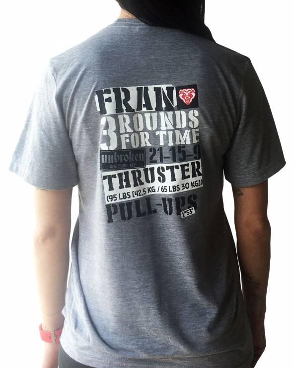 Camiseta Cross Training - Fran - Grey