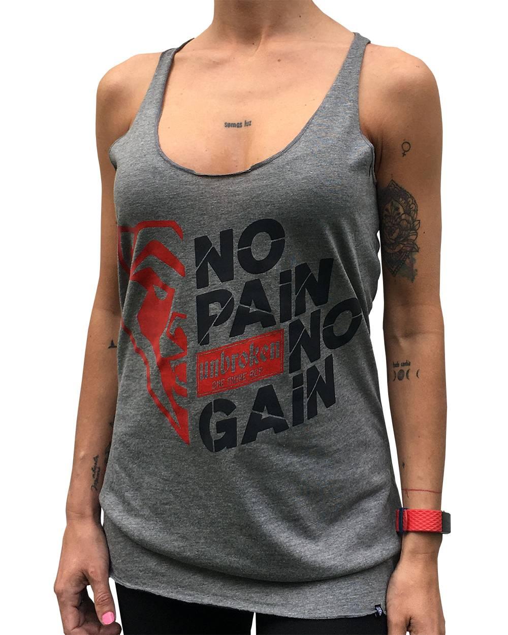 Camiseta atleta espalda nadadora Unbroken