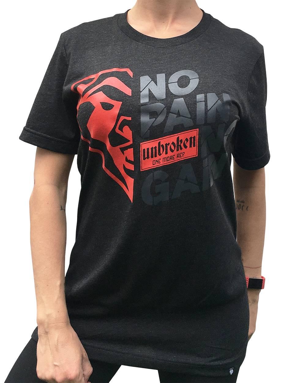 Camiseta NO PAIN NO GAIN