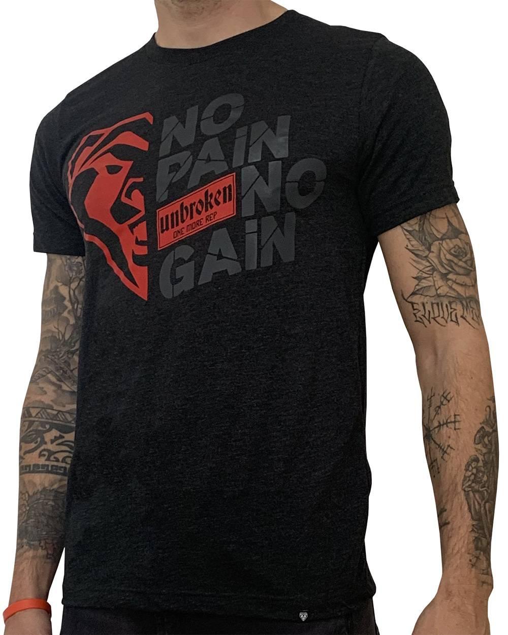 Camiseta atleta NO PAIN NO GAIN