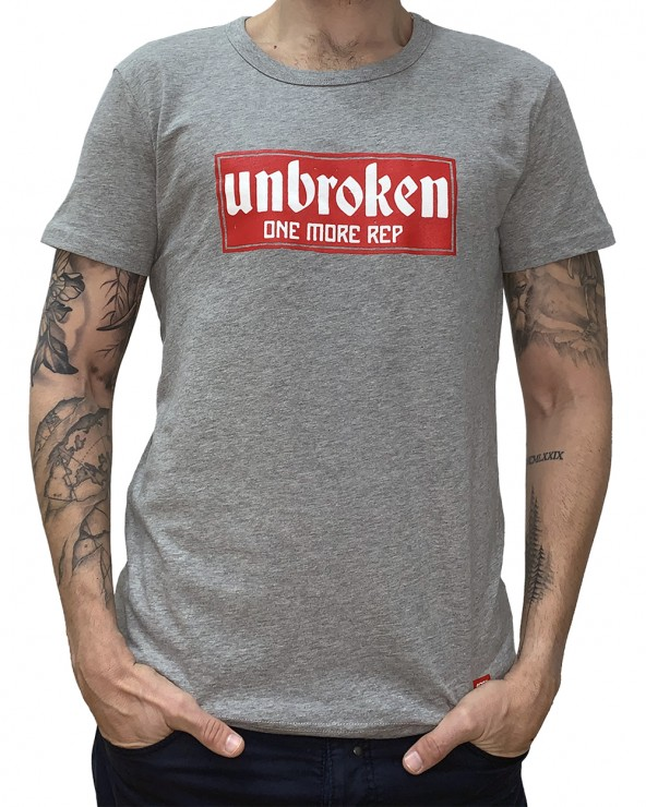 Camiseta hombre Casual - Grey Heather