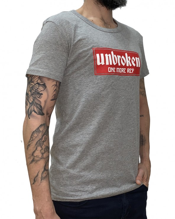 Camiseta hombre Casual - Grey Heather